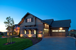 Mountain Home Plan Front of House 101D-0041