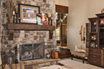 Luxury House Plan Fireplace Photo 01 - Paxton Peak Luxury Home 101D-0051 | House Plans and More