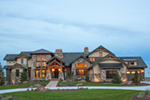 Luxury House Plan Front of Home - Paxton Peak Luxury Home 101D-0051 | House Plans and More