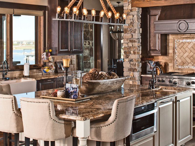 Luxury House Plan Kitchen Photo 02 - Paxton Peak Luxury Home 101D-0051 | House Plans and More