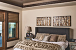 Luxury House Plan Master Bedroom Photo 01 - Paxton Peak Luxury Home 101D-0051 | House Plans and More