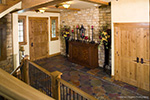 Rustic Home Plan Entry Photo 02 - Kemper Hill Mountain Home 101S-0003 | House Plans and More