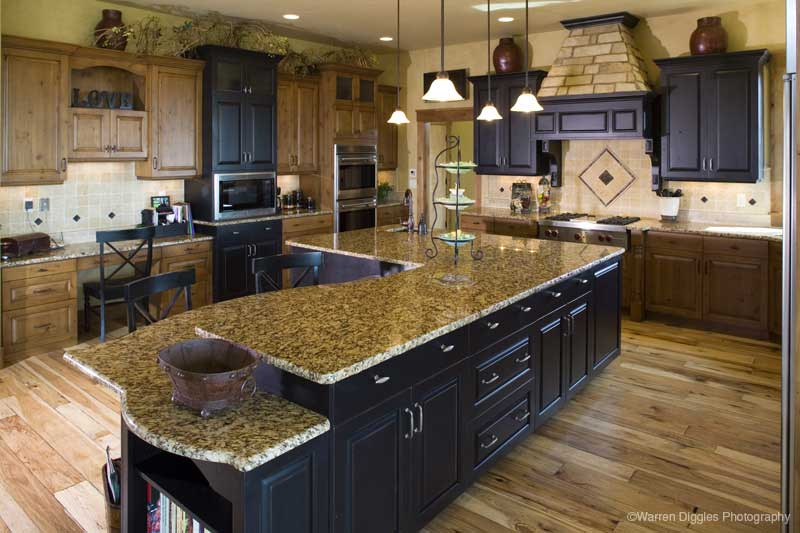 Tudor House Plan Kitchen Photo 02 - Kemper Hill Mountain Home 101S-0003 | House Plans and More