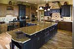 Rustic Home Plan Kitchen Photo 02 - Kemper Hill Mountain Home 101S-0003 | House Plans and More