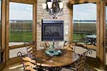 Rustic Home Plan Nook Photo - Kemper Hill Mountain Home 101S-0003 | House Plans and More