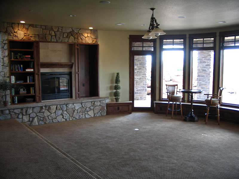 Mountain Home Plan Basement Photo 03 - Colima Manor Mountain Home 101S-0005 | House Plans and More