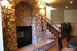 Mountain Home Plan Fireplace Photo 02 - Colima Manor Mountain Home 101S-0005 | House Plans and More