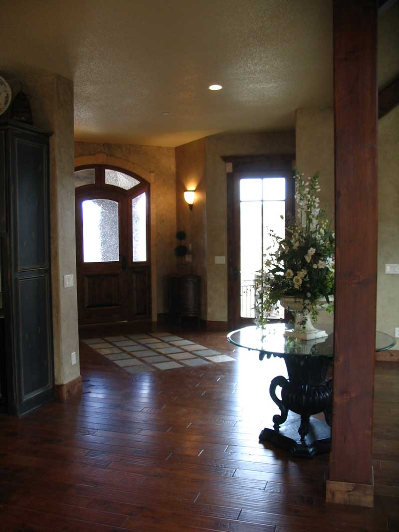 Mountain Home Plan Foyer Photo - Colima Manor Mountain Home 101S-0005 | House Plans and More