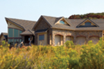 Mountain Home Plan Side View Photo - Colima Manor Mountain Home 101S-0005 | House Plans and More