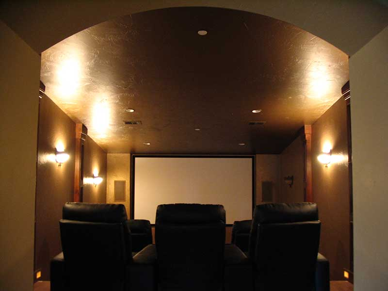 Mountain Home Plan Theater Room Photo 01 - Colima Manor Mountain Home 101S-0005 | House Plans and More