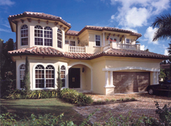 Florida House Plans Front of House 106S-0025