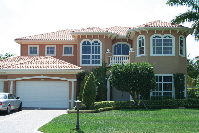 Santa Fe House Plan Front Photo 01 - Solana Mediterranean Home 106S-0042   House Plans and More