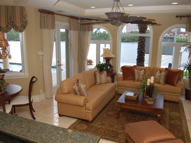 Florida House Plan Family Room Photo 01 - Buckman Heights Spanish Home 106S-0059 | House Plans and More