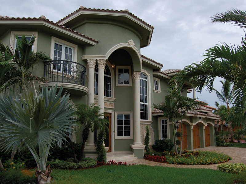 Florida House Plan Front Photo 02 - Buckman Heights Spanish Home 106S-0059 | House Plans and More