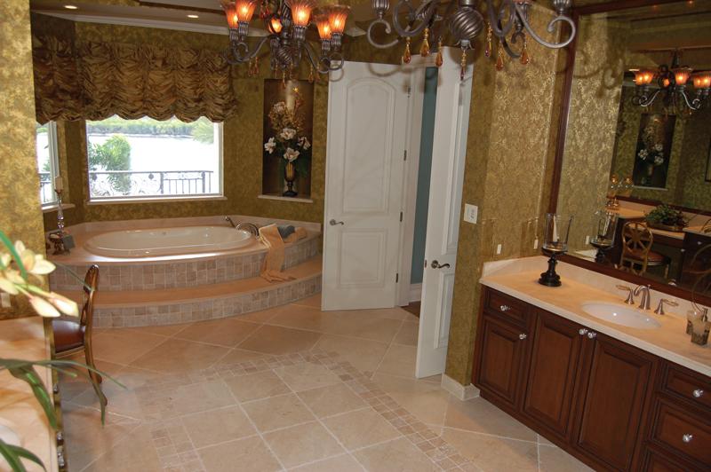 Florida House Plan Master Bathroom Photo 01 - Buckman Heights Spanish Home 106S-0059 | House Plans and More