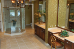 Florida House Plan Master Bathroom Photo 02 - Buckman Heights Spanish Home 106S-0059 | House Plans and More
