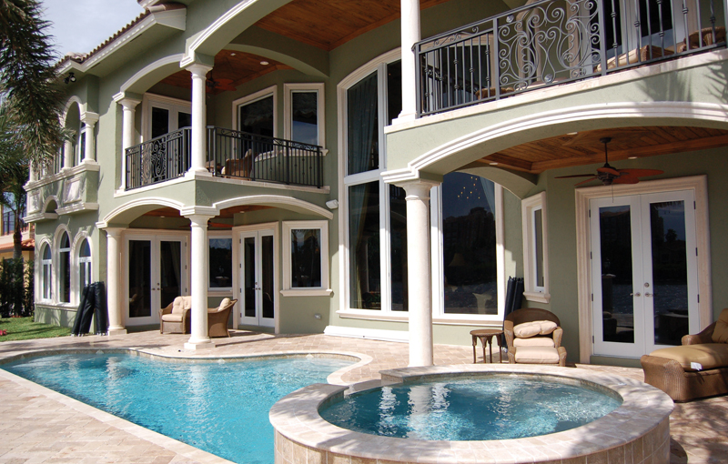 Florida House Plan Pool Photo - Buckman Heights Spanish Home 106S-0059 | House Plans and More