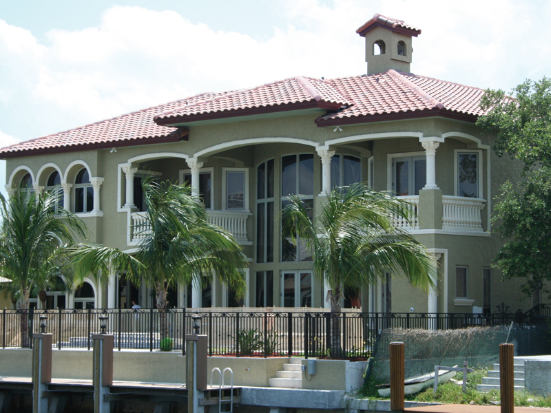 Florida House Plan Rear Photo 01 - Buckman Heights Spanish Home 106S-0059 | House Plans and More