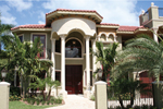 Spanish Stucco Home With Intricate Iron Details