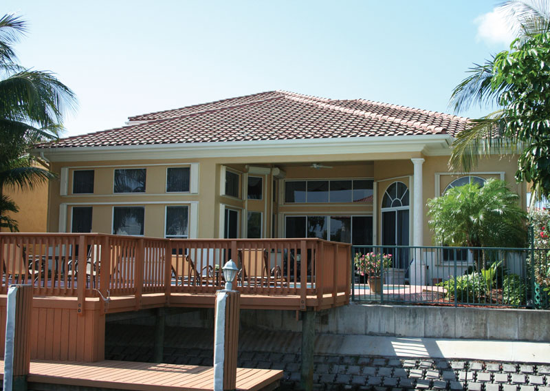 Sunbelt Home Plan Boat Dock Photo 02 - Picayne Point Waterfront Home 106S-0067 | House Plans and More
