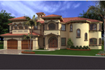 Spanish Mediterranean Home With Multiple Windows