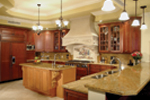 Santa Fe House Plan Kitchen Photo 01 - 6-Bedroom Luxury House Plans | 6-Bedroom Home Plans