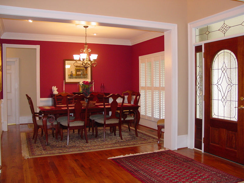 Traditional House Plan Dining Room Photo 01 - Drew Plantation Southern Home 111D-0025 | House Plans and More