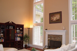 Traditional House Plan Family Room Photo 01 - Drew Plantation Southern Home 111D-0025 | House Plans and More