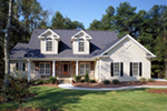 Dormers Add Refined Southern Style
