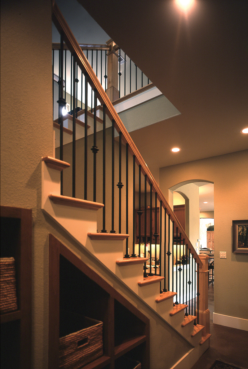 Spanish House Plan Stairs Photo - Danton Luxury Home 111S-0005 | House Plans and More