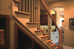 Italian House Plan Stairs Photo - Danton Luxury Home 111S-0005 | House Plans and More