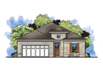 Florida House Plan Front of House 116D-0031