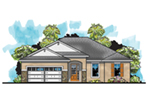 Florida House Plan Front of House 116D-0032