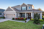 Florida House Plan Front of House 116D-0045