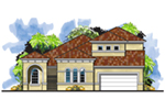 Luxury House Plan Front of House 116D-0047