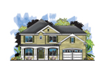 Florida House Plan Front of House 116D-0048