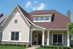 Craftsman House Plan Front of House 119D-0001