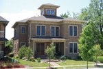 Neoclassical Home Plan Front of House 119D-0003