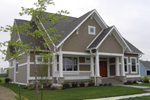 Shingle House Plan Front of House 119D-0004