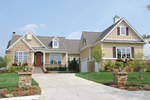 Ranch House Plan Front of House 119D-0005