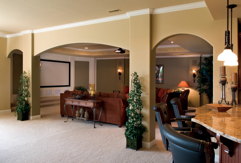 Country French House Plan Basement Photo 01 - Flora Park Country French Home 119D-0007 | House Plans and More