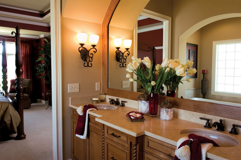 Country French House Plan Bathroom Photo 01 - Flora Park Country French Home 119D-0007 | House Plans and More