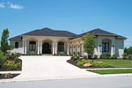 Ranch House Plan Front of House 119D-0011