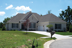 Traditional House Plan Front of House 119D-0012