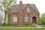 Greek Revival House Plan Front of House 119D-0014