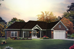 Attractive Brick Ranch Home With Classic Traditional Style