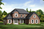 House Plan Front of Home 121D-0009