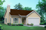 Country House Plan Front of House 121D-0010
