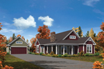 Craftsman House Plan Front of House 121D-0016