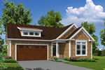 Traditional House Plan Front of House 121D-0023